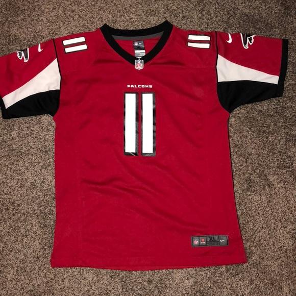 best loved ee1fe 07640 Officials Nike Julio Jones Jersey Men's XL
